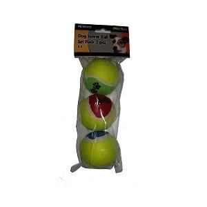 Tennisballen 6cm 3 stuks