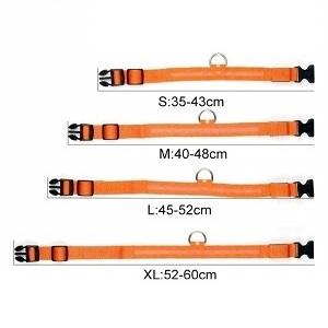 Oplaadbare led-halsband