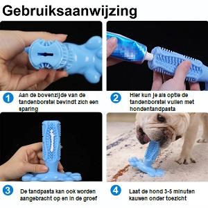 honden tandenborstel gebruiksaanwijzing